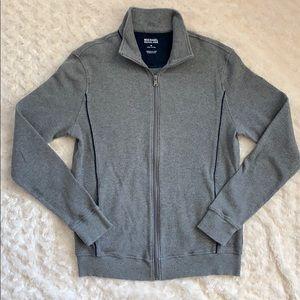 Michael Kors men's zip up sweater